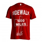 Sidewalk 1000 miles shirt
