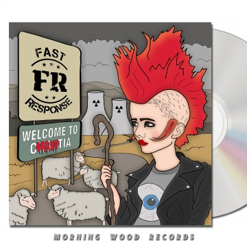 Fast Response – Welcome To Corruptia CD