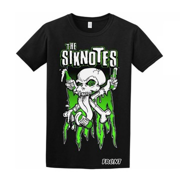 The Siknotes T-shirt front