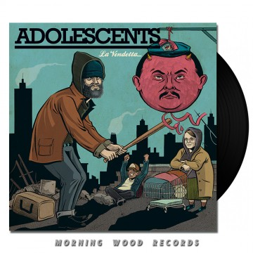 Adolescents – La Vendetta LP