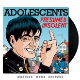 Adolescents - Presumed Insolent LP