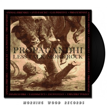 Propagandhi – Less Talk, More Rock LP