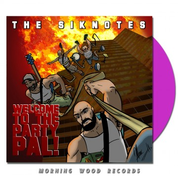 The Siknotes – Welcome To  The Party, Pal lilac vinyl