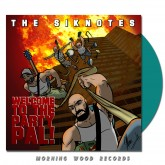 The Siknotes - Welcome To  The Party, Pal magenta vinyl