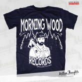 Morning Wood Records - Lumberpunk - Navy T-shirt