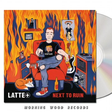 Latte+ – Next To Ruin CD