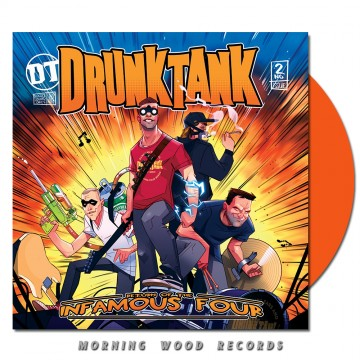 Drunktank – Return Of The Infamous Four LP