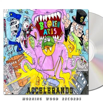 Broken Aris Accelerando CD