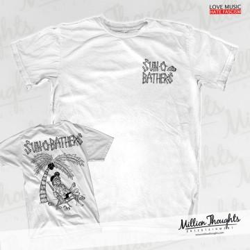 Sun-0-Bathers Tiki Shirt white