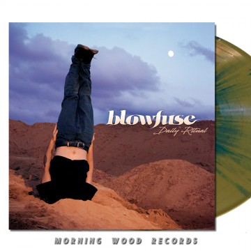 Blowfuse – Daily Ritual Gold Blue Splatter LP