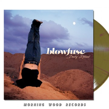 Blowfuse – Daily Ritual Gold Purple platter LP