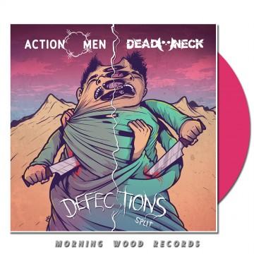 Actionmen Dead Neck Split LP