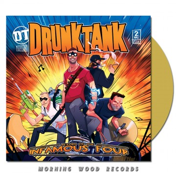 Drunktank – Return Of The Infamous Four LP beer