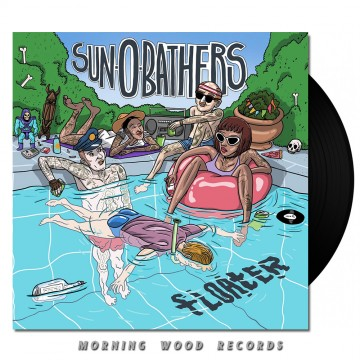 Sun-0-Bathers – Floater LP black