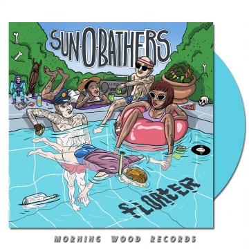 Sun-0-Bathers – Floater LP light blue opaque