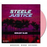 Steele Justice - Neonlight Blues pink LP