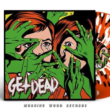 Get Dead EP Orange Splatter